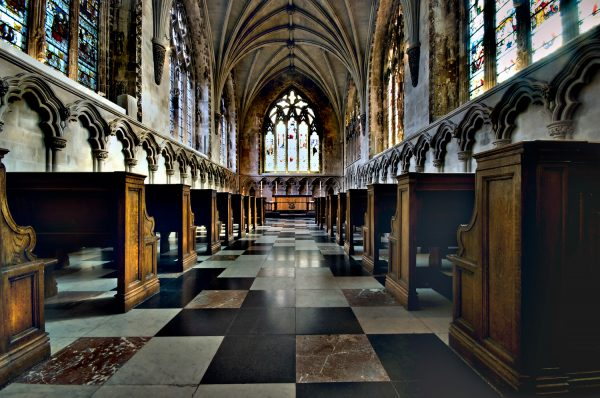 The Ladies Chappel in St Albans Cathedral