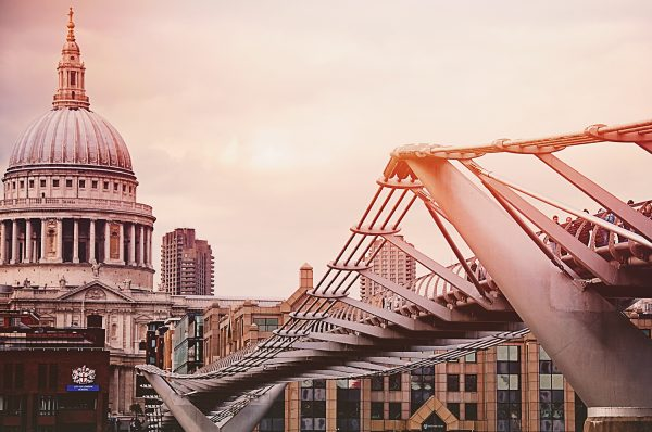 St Pauls Cathedral and the Bridge