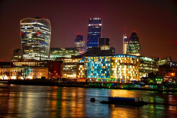 The City and Thames