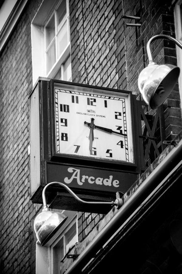 St Albans Arcade Clock