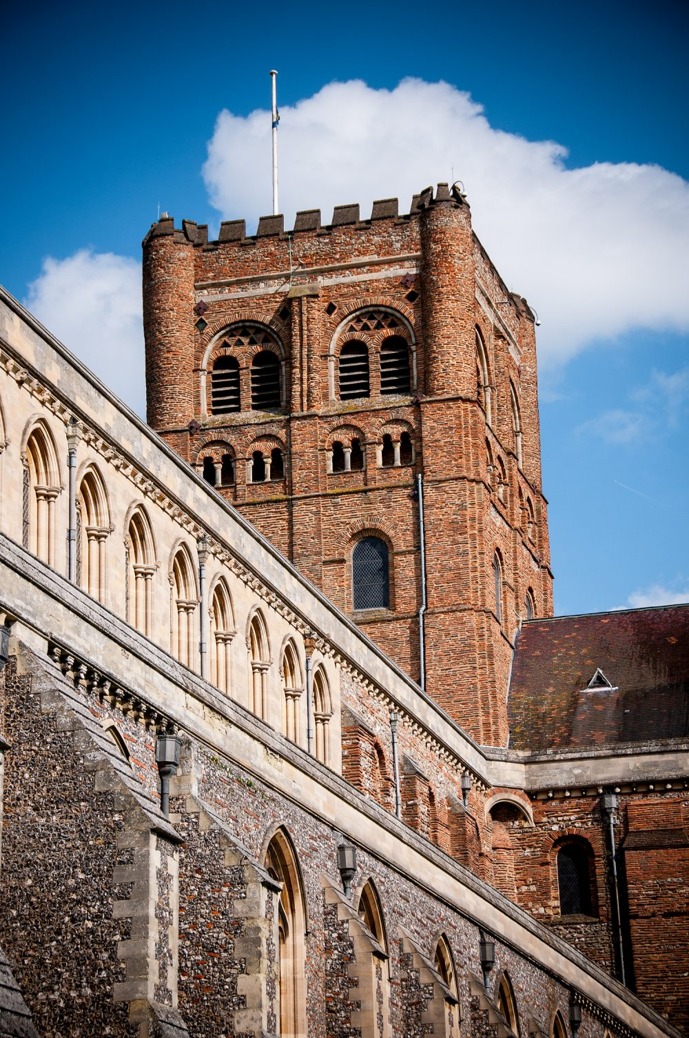 St Albans Cathedral Tower