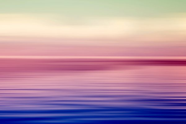 Pink and Blue Seascape