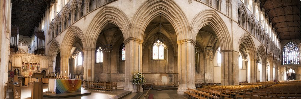 Panoramic of St Albans Cathedral