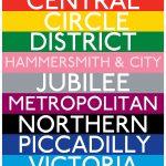London Underground prints