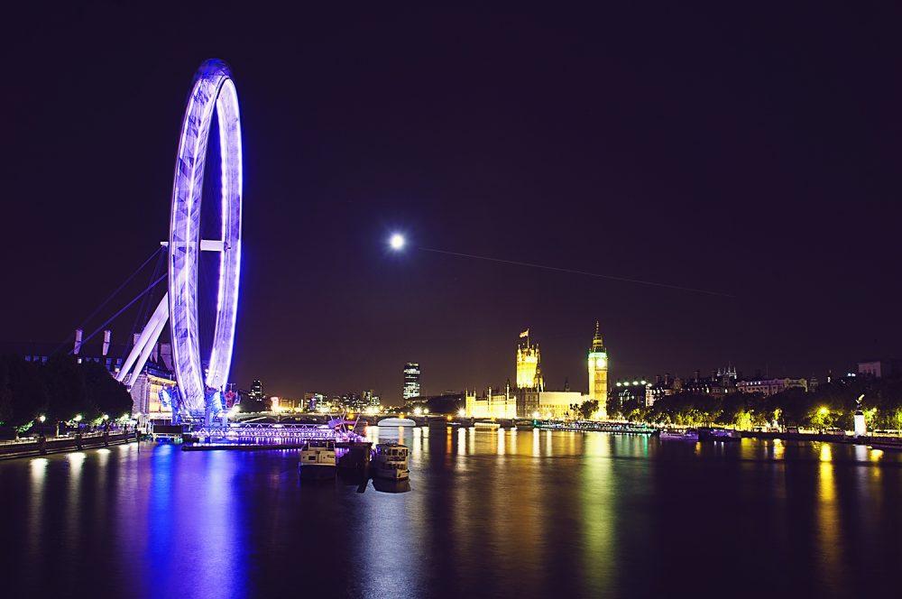 Big Ben and Millenium Wheel