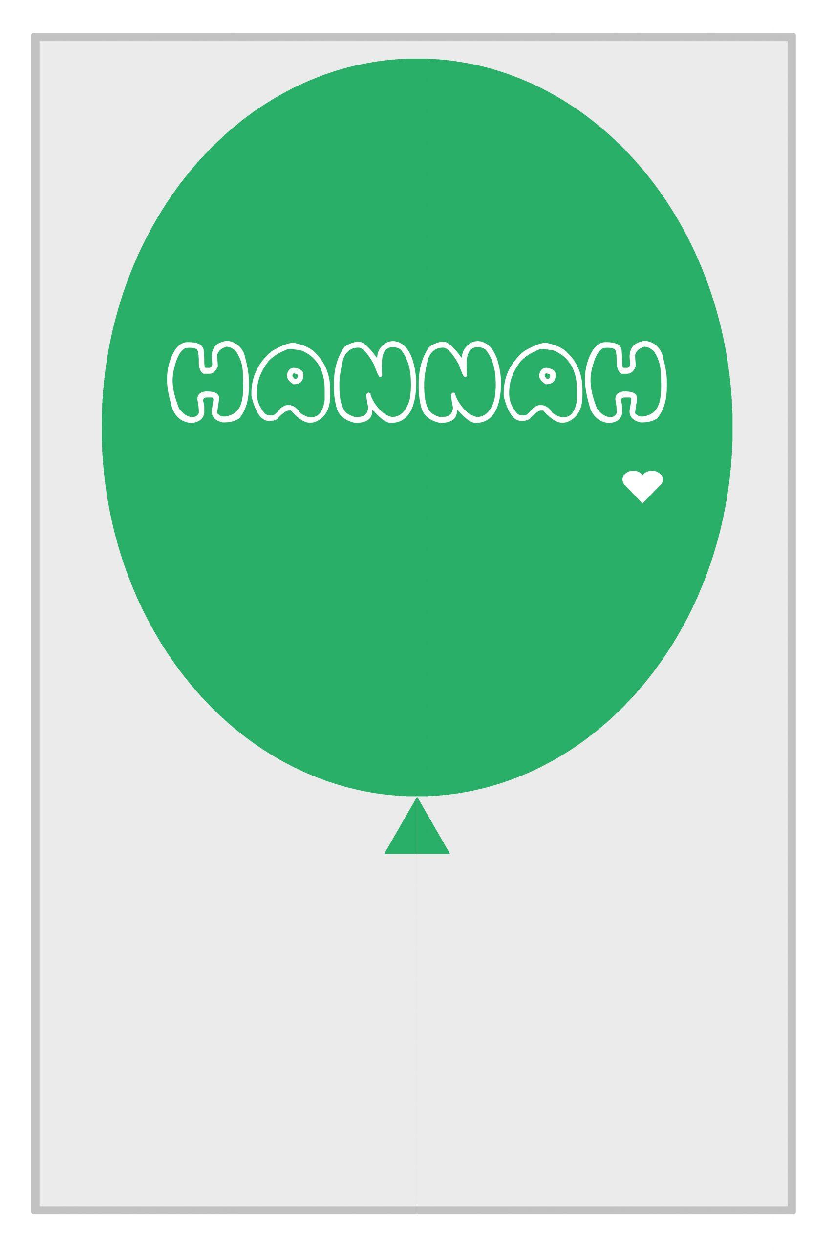 Name Balloon 2