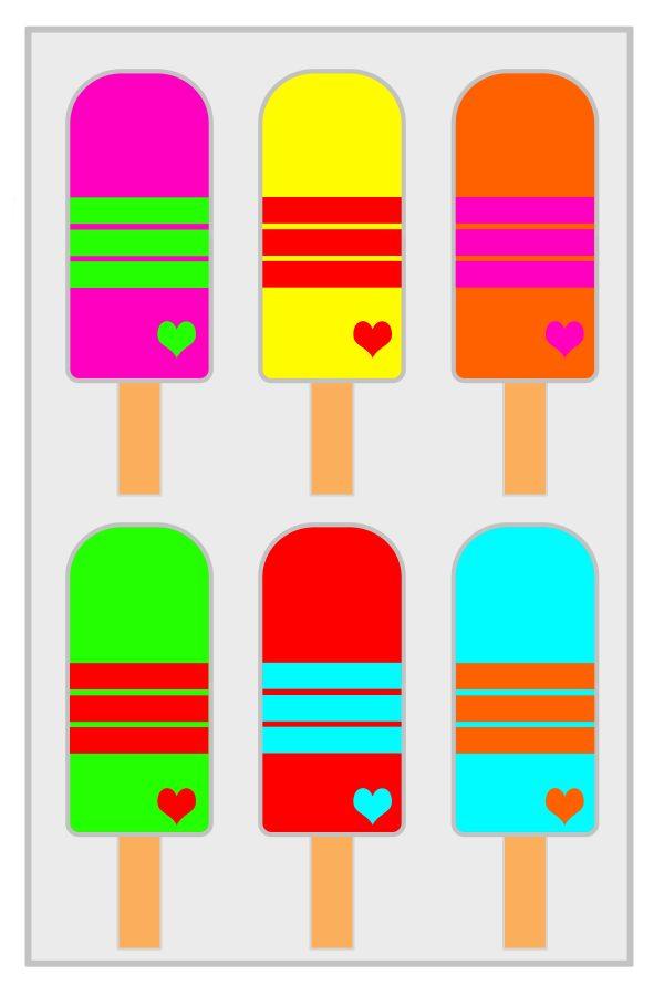 lollipops kids art