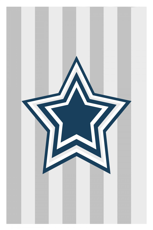 Blue Star kids art
