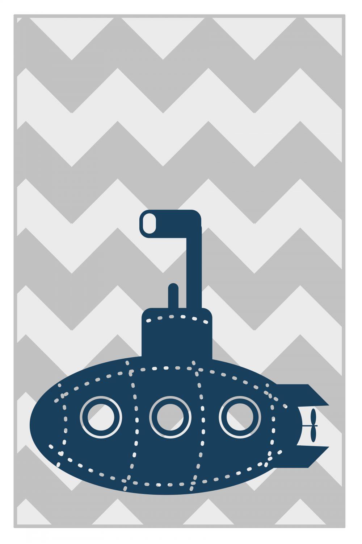 submarine kids art