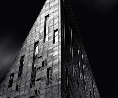 Fine art print of M by Montcalm building