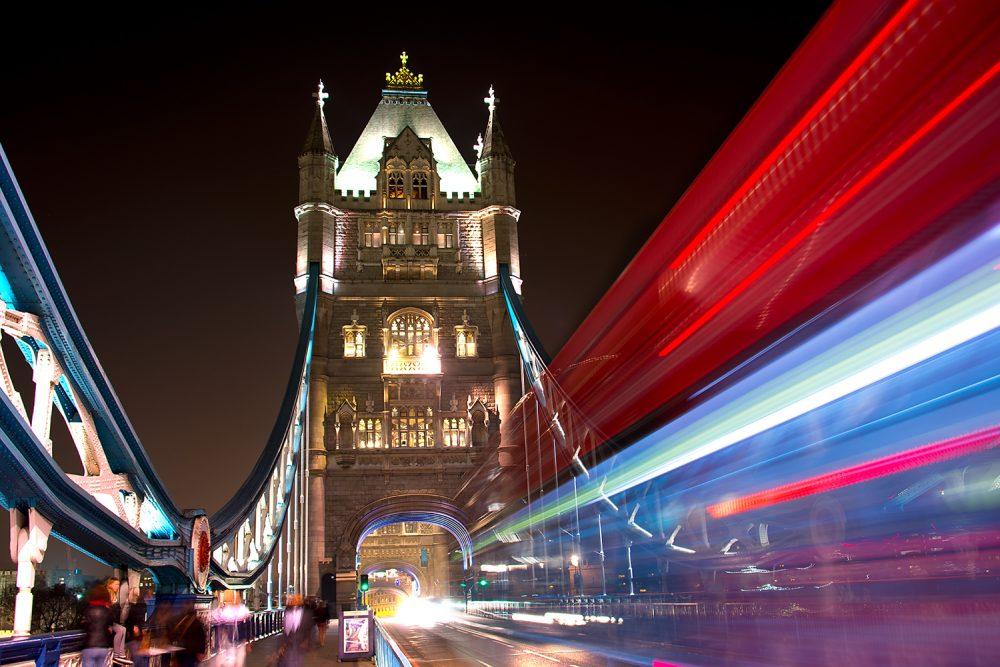 Tower Bridge Night Trails