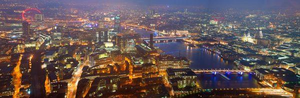 panoramic of london